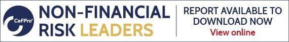 Non-Financial Risk Leaders - Report available to download now View online